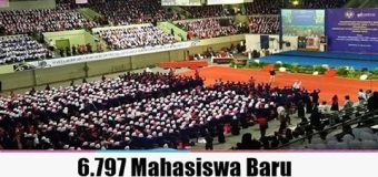 6.797 Mahasiswa Baru UNY Ikuti Ospek