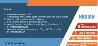 UNY BLOG COMPETITION ; Ramadhan Produktif Di Kampus